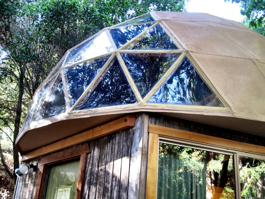 Mushroom Dome Cabin Tiny House Swoon