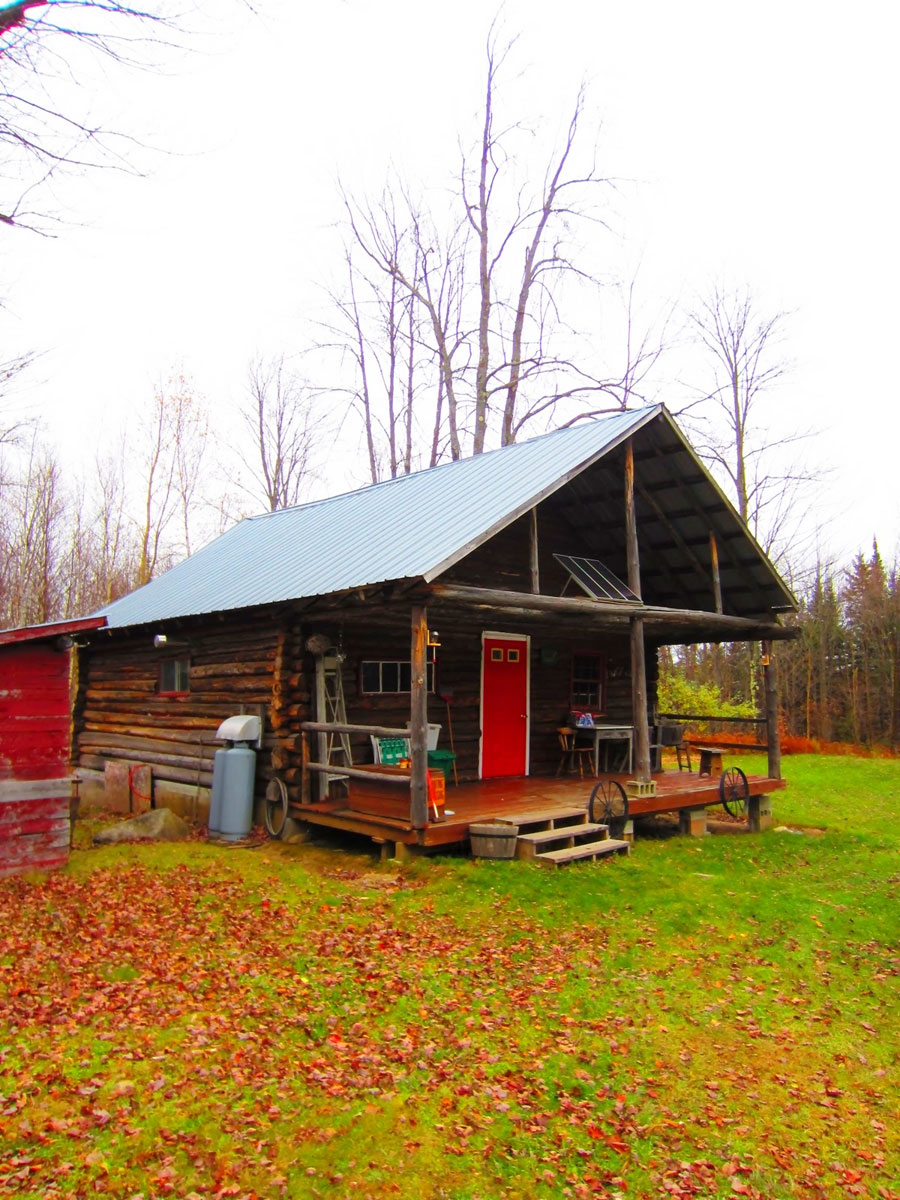 vermont log cabin tiny house swoon