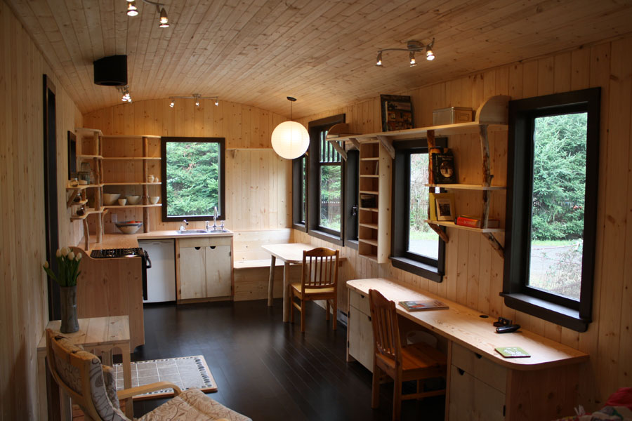 Swoon tiny house interior quotes Interior pictures of tin homes