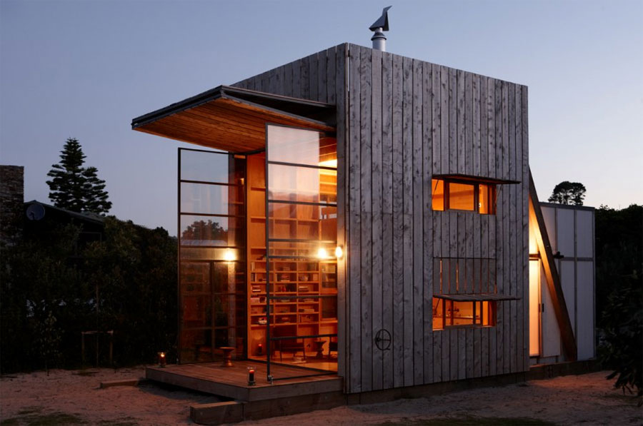 Sliding Tiny Beach House Tiny House Swoon