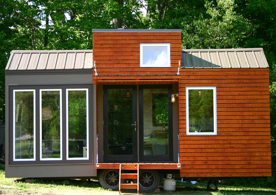 tall mans tiny house - Little Houses For Sale