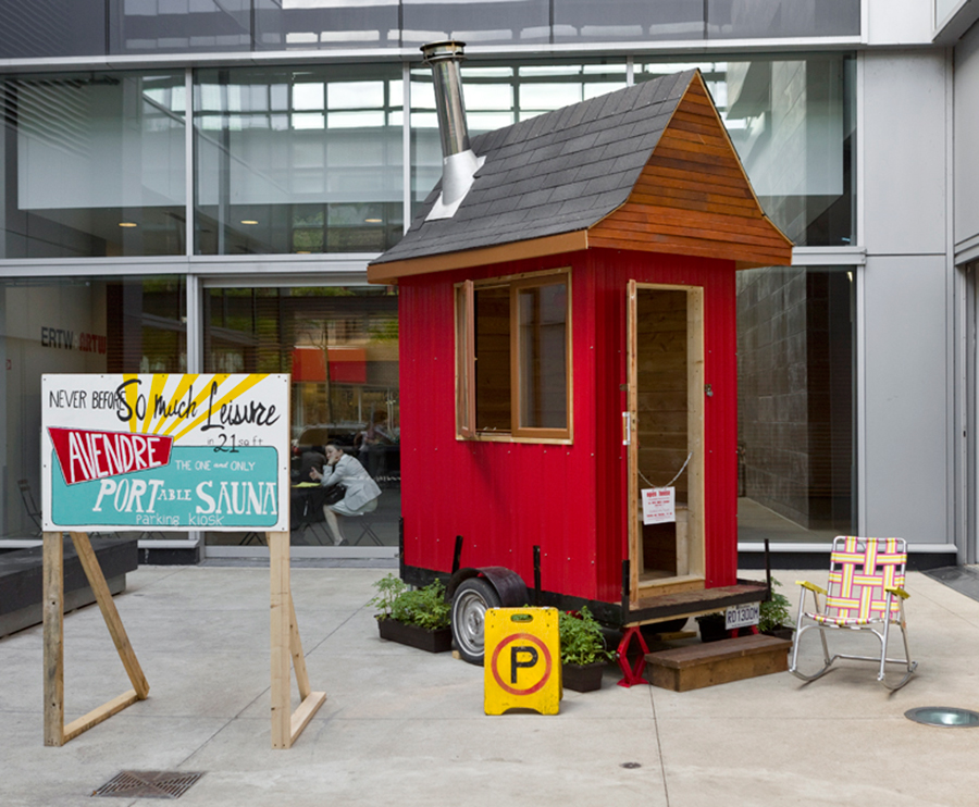 Enjoyable Portable Tiny Sauna Tiny House Swoon Largest Home Design Picture Inspirations Pitcheantrous