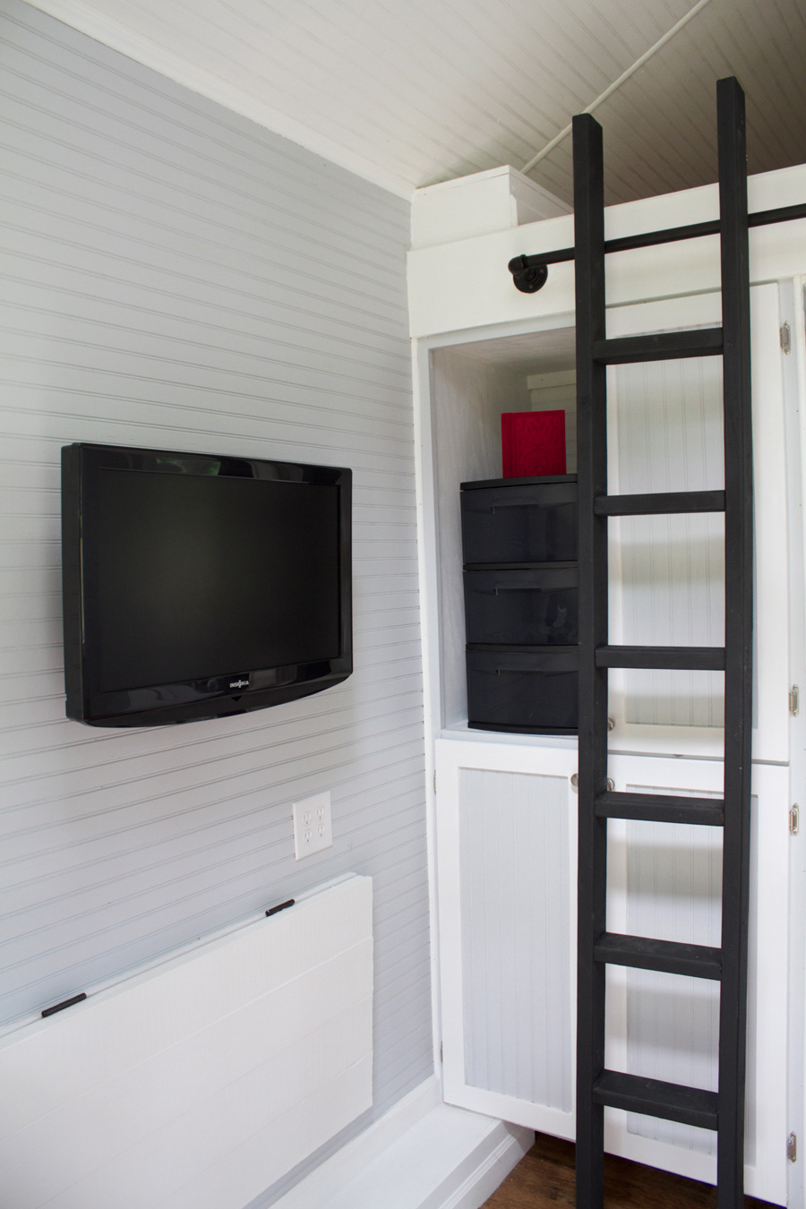 Tiny Houses Loft Viewing Gallery