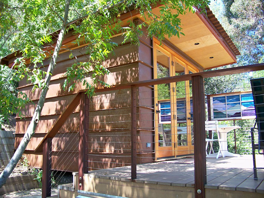Tiny prefab cabin tiny house swoon for 144 sq ft shed