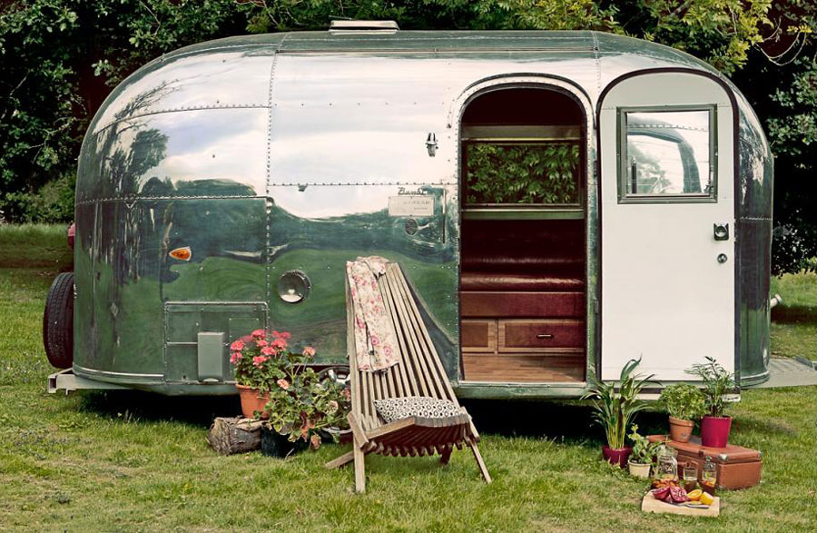 restored airstream bambi tiny house swoon. Black Bedroom Furniture Sets. Home Design Ideas