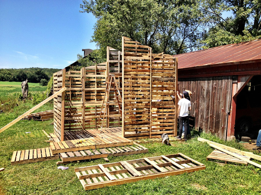 Pallet House Tiny House Swoon