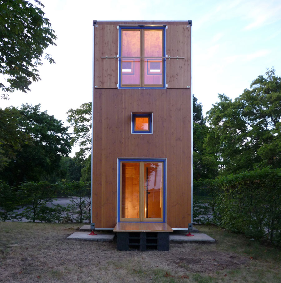 Homebox tiny house swoon for Micro home designs
