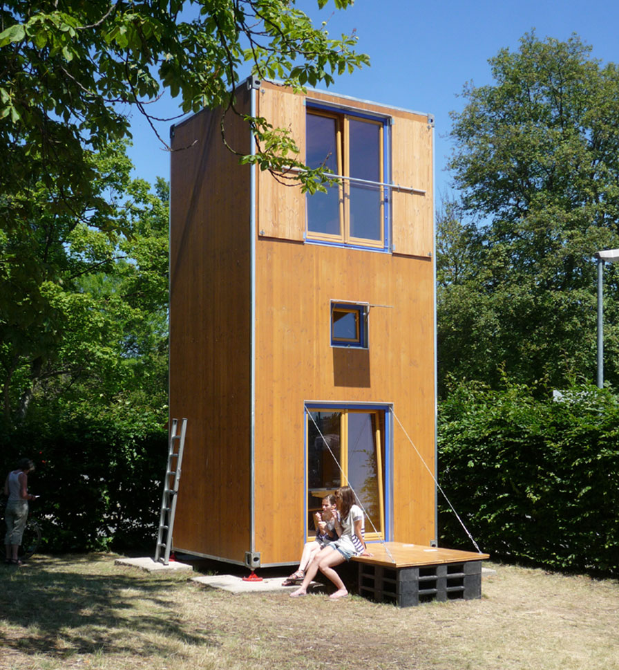 Homebox tiny house swoon - Three wooden house plans ...