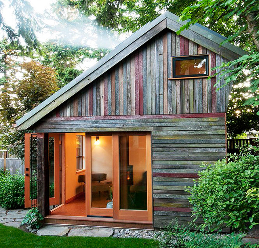 Backyard house tiny house swoon for Little house