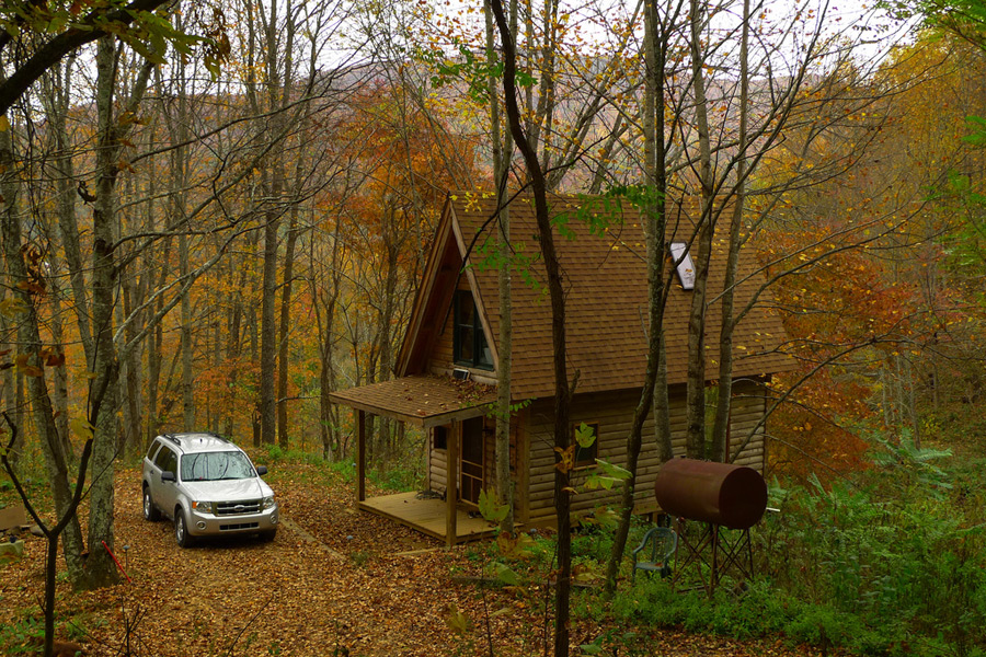 appalachian mountains cabin tiny house swoon