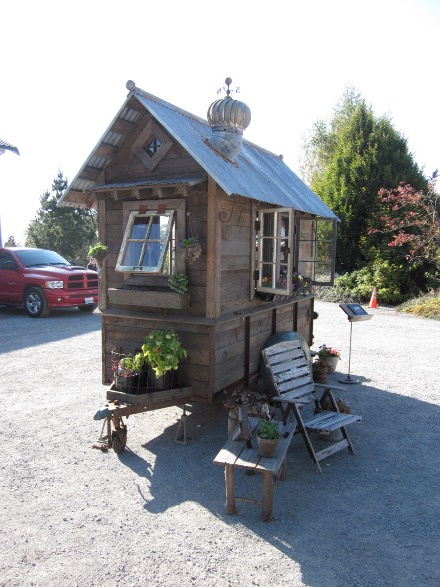 rustic shed tiny house swoon