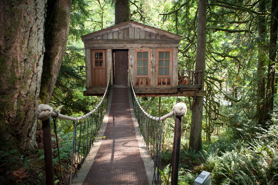 Treehouse Point Tiny House Swoon