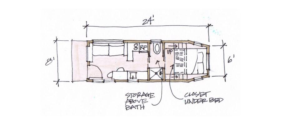 Tiny House On Gooseneck Trailer myideasbedroomcom