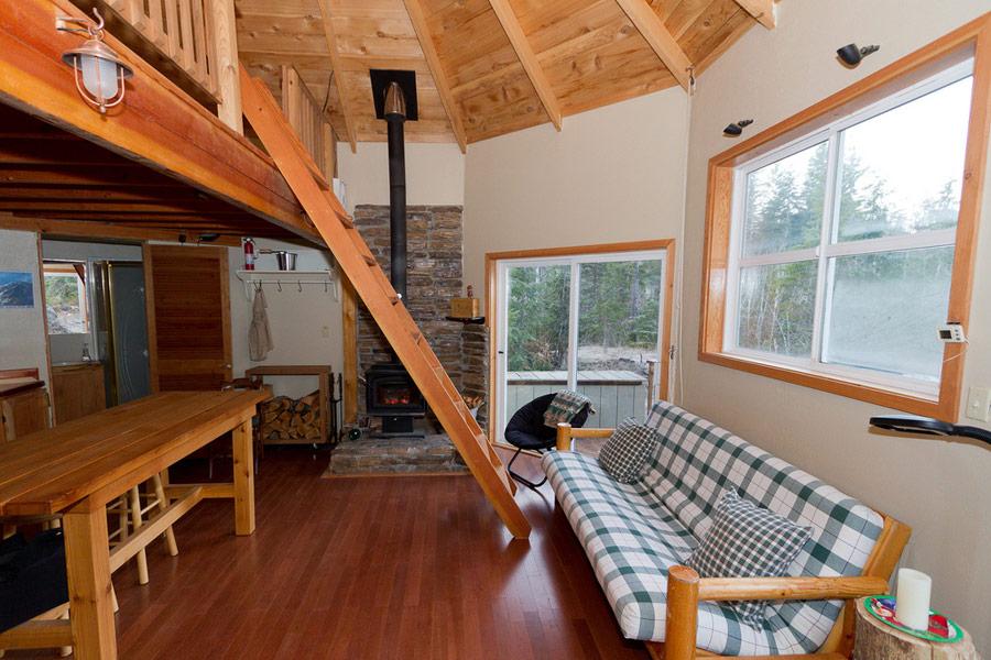 solar octagon cabin tiny house swoon