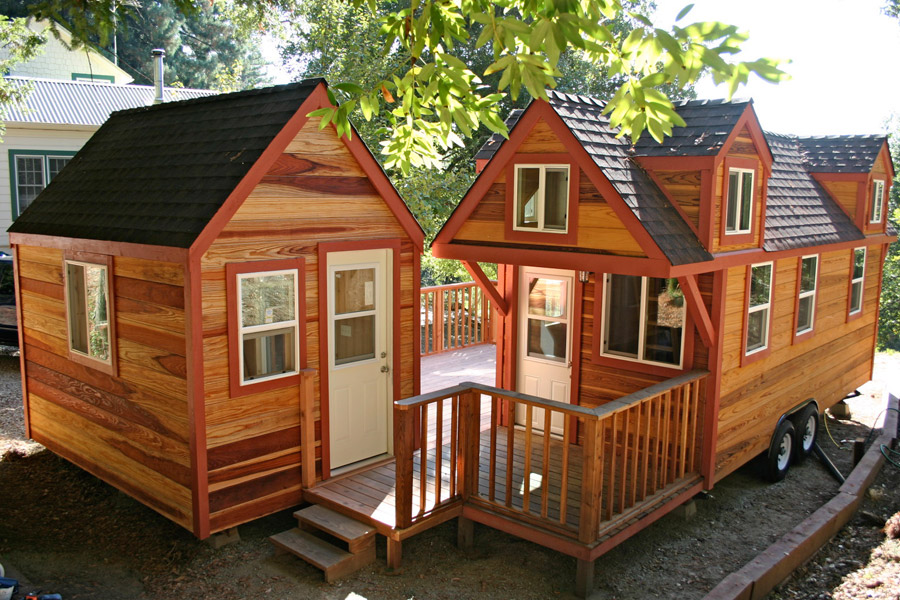 tiny house with studio - Where Can You Build Tiny Houses
