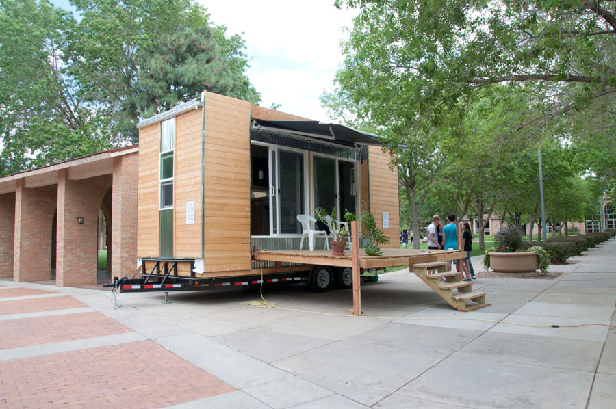 Modern styled tiny house tiny house swoon for Modern tiny homes on wheels