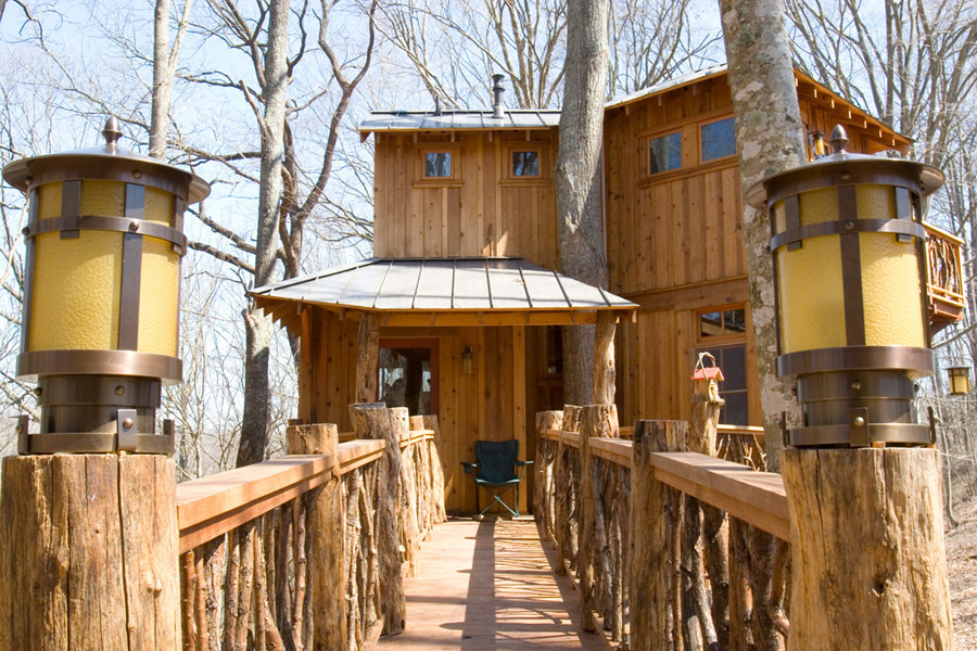 Abington Treehouse Tiny House Swoon
