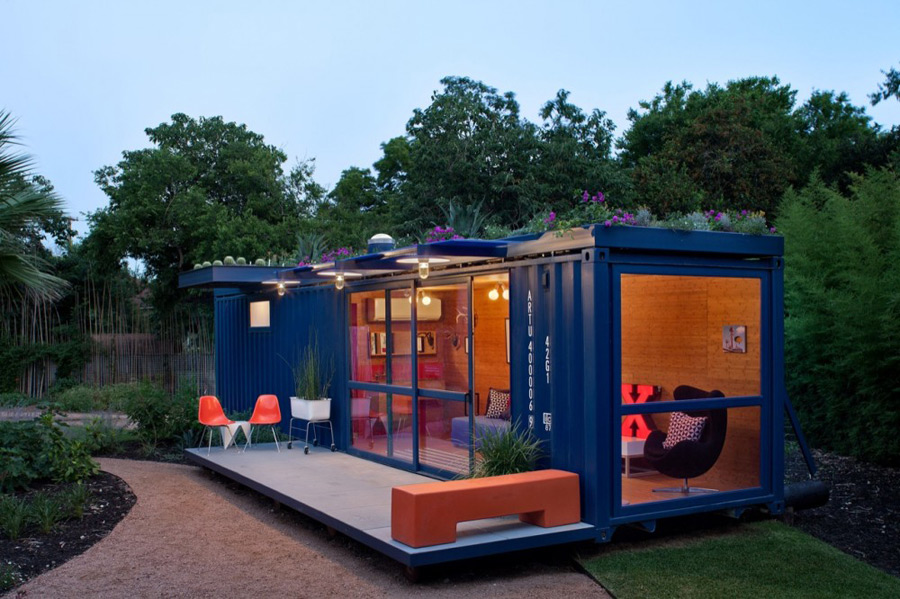 Green Roof Container House Tiny House Swoon