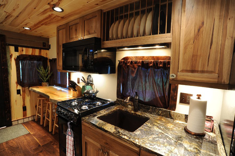 JJ Caboose Tiny House Swoon