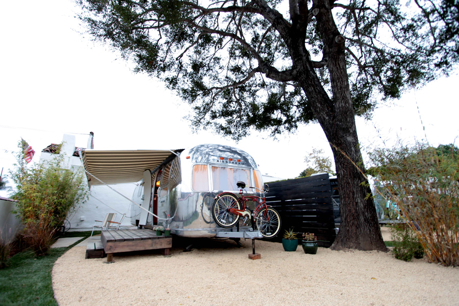 Guys with hammers restored airstream sovereign for Airstream rentals santa barbara