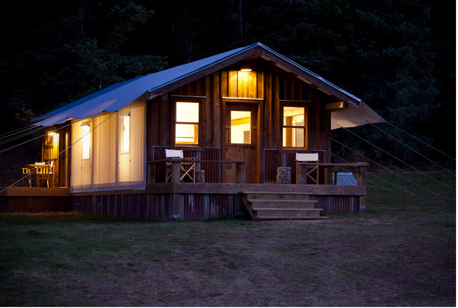 Glam Tent - Tiny House Swoon