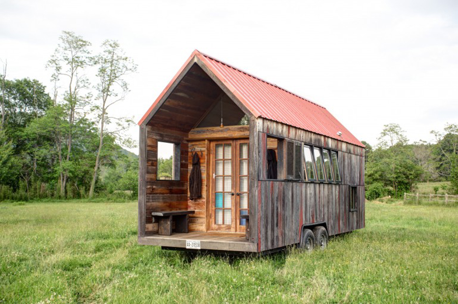Pocket shelter tiny house swoon for Micro homes on wheels