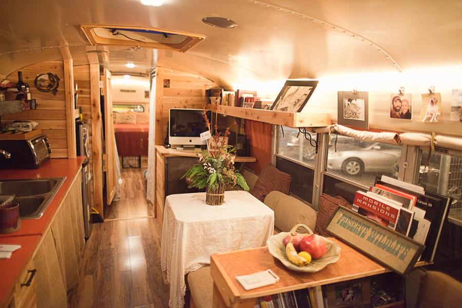 Bluebird Bus Conversion Tiny House Swoon