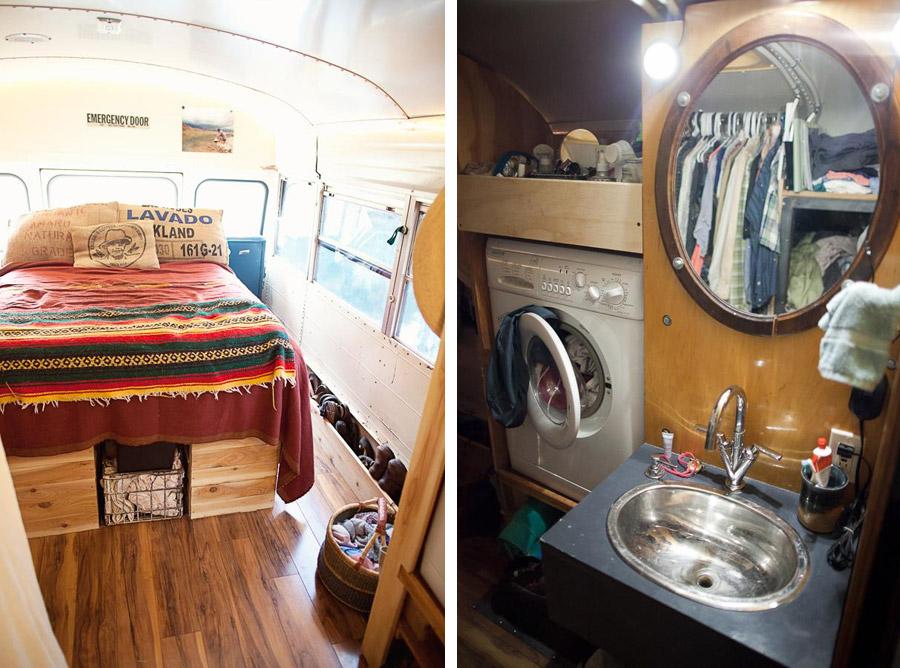 bluebird bus conversion tiny house swoon