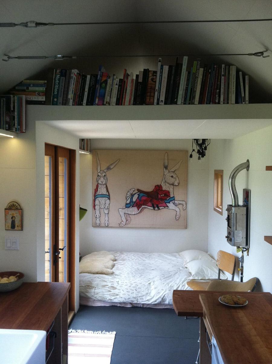 Family-Built Tiny House