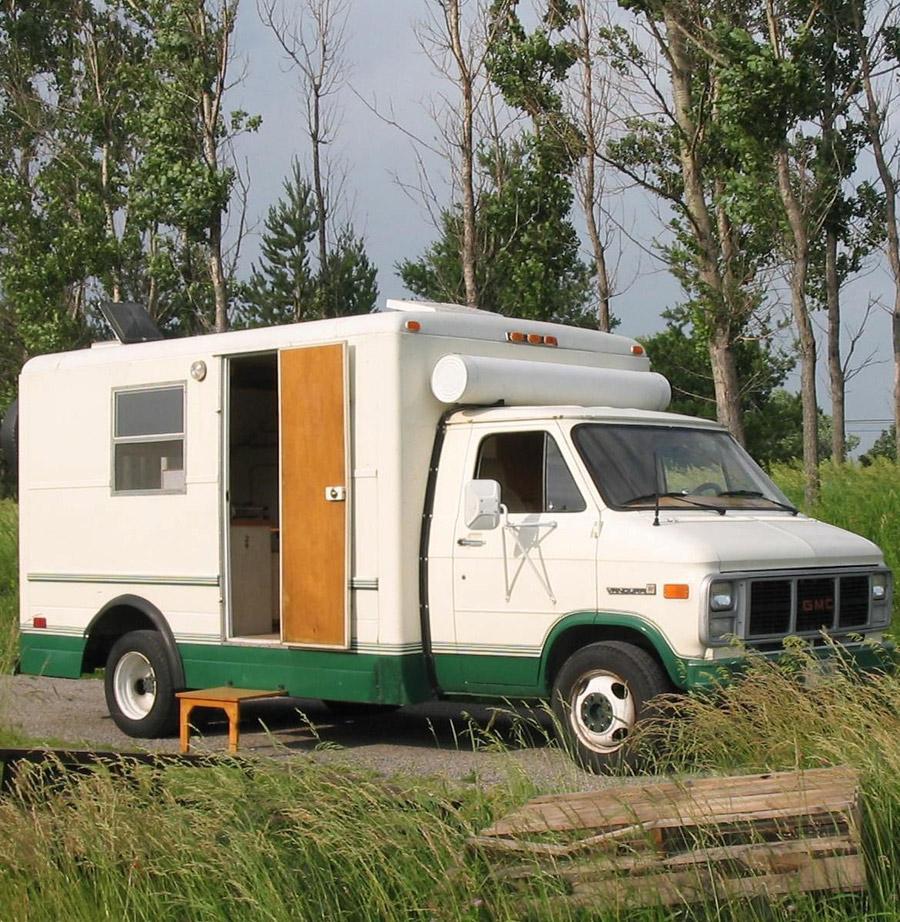 Cube Van Camper Conversion >> Converted Maintenance Van - Tiny House Swoon