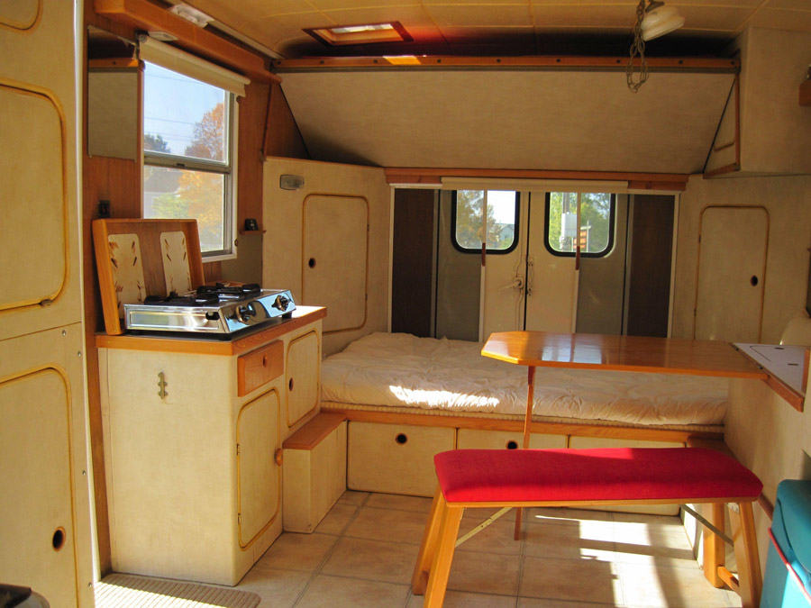 Converted Maintenance Van Tiny House Swoon