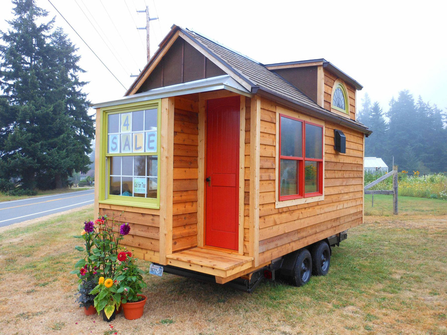 Mighty micro house tiny house swoon Tiny houses on wheels for sale