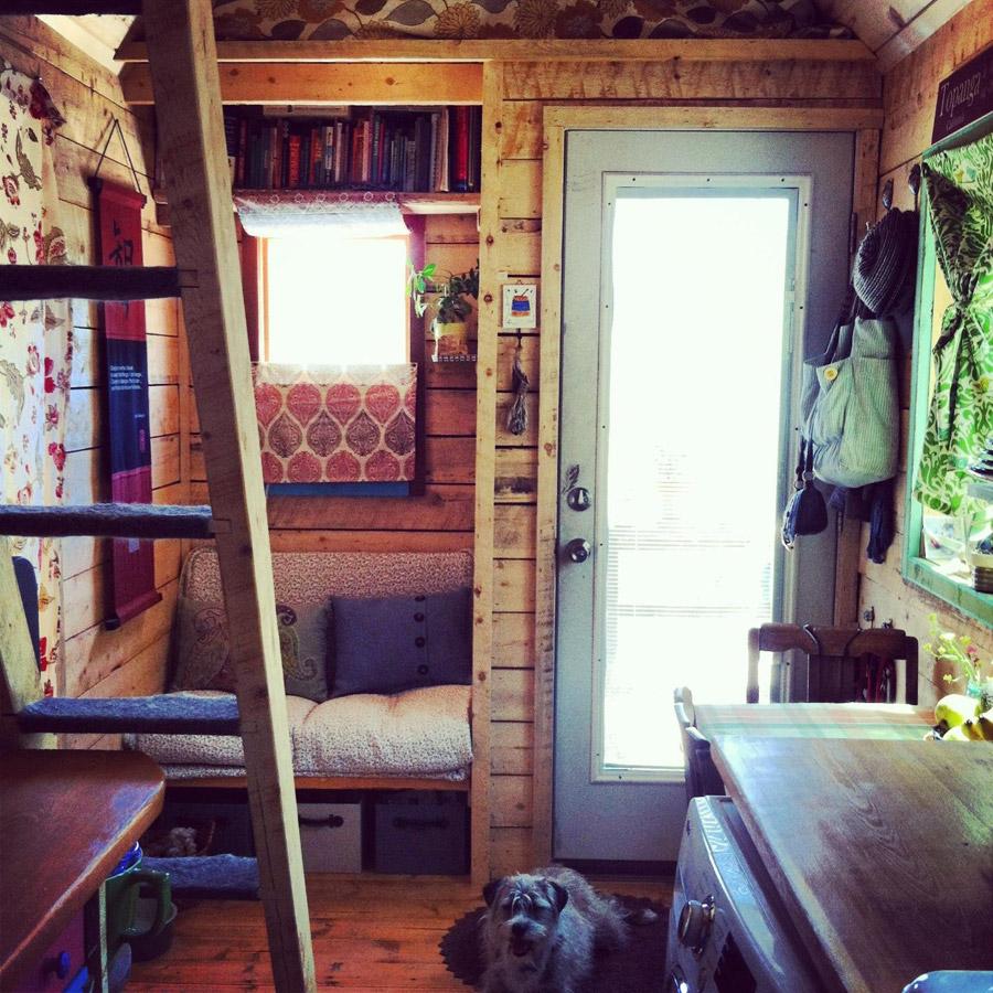 Tiny artist house tiny house swoon - Theusd tiny house the shortest way to freedom ...