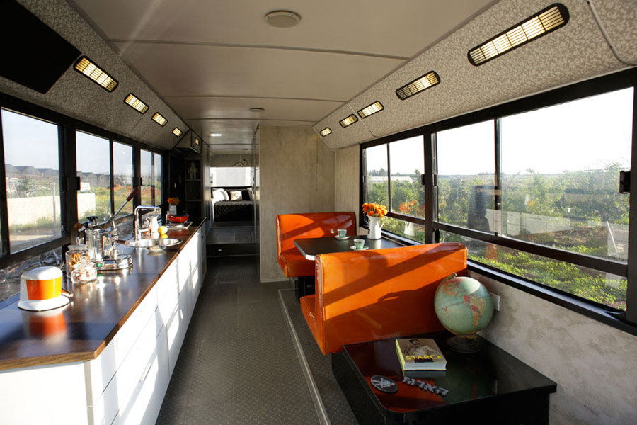 Converted Transportation Bus  U2013 Tiny House Swoon