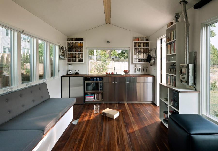 A 210 Square Feet Tiny House