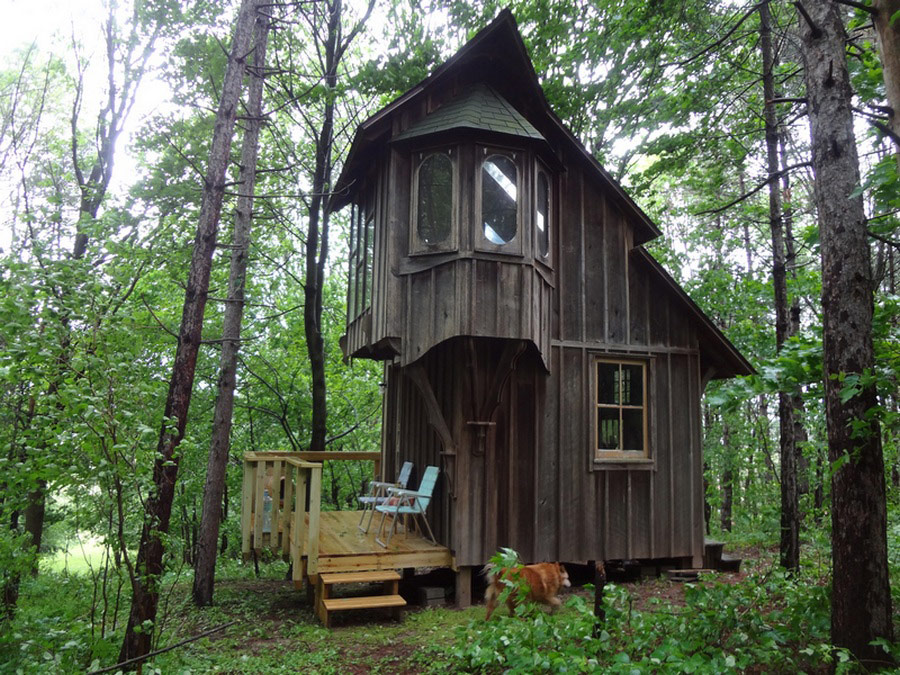 Cottage on a hill tiny house swoon for 2 story tiny house