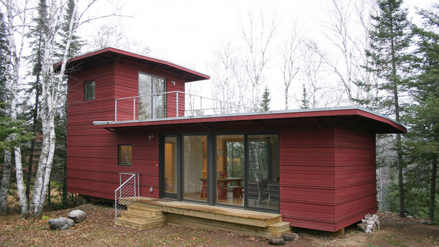 Mcglasson weehouse tiny house swoon for Cost to build a house in mn