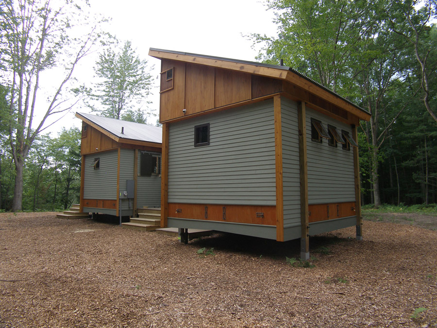 Pre Fab Cottage on 16x40 cabin roof system