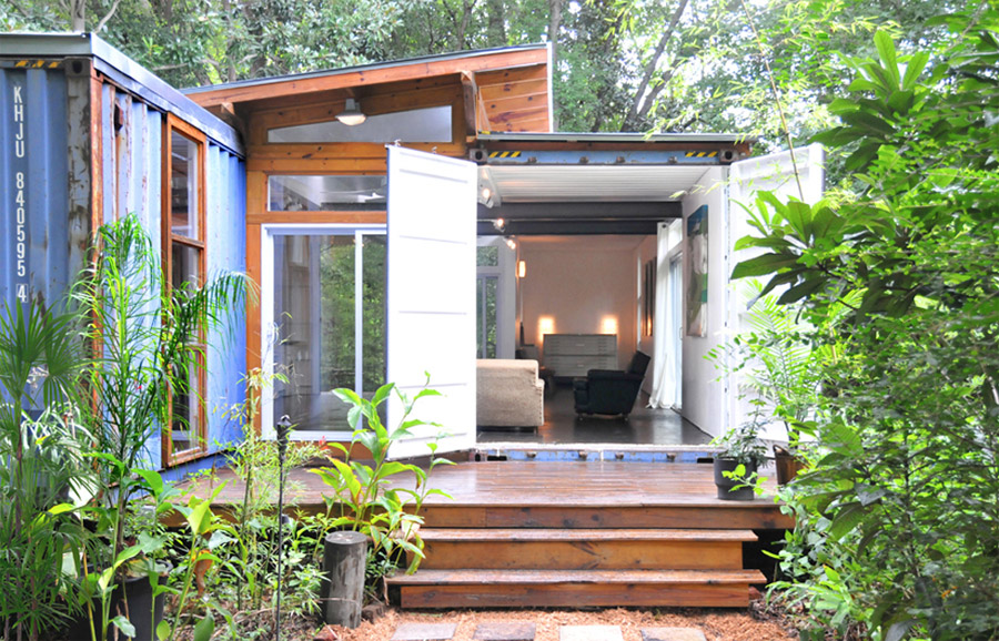 Savannah container home tiny house swoon - Container home florida ...