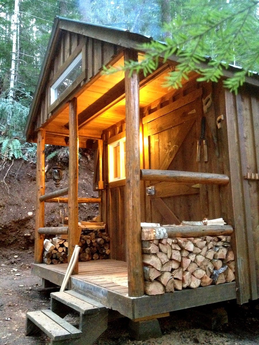 Tiny Cabin In The Woods | Tiny House Swoon