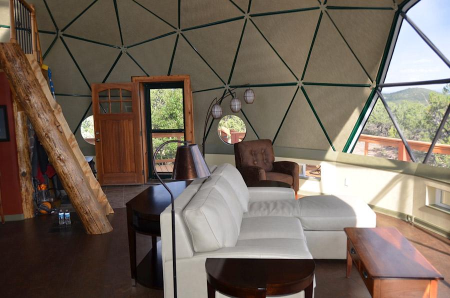 Colorado Living Dome Tiny House Swoon