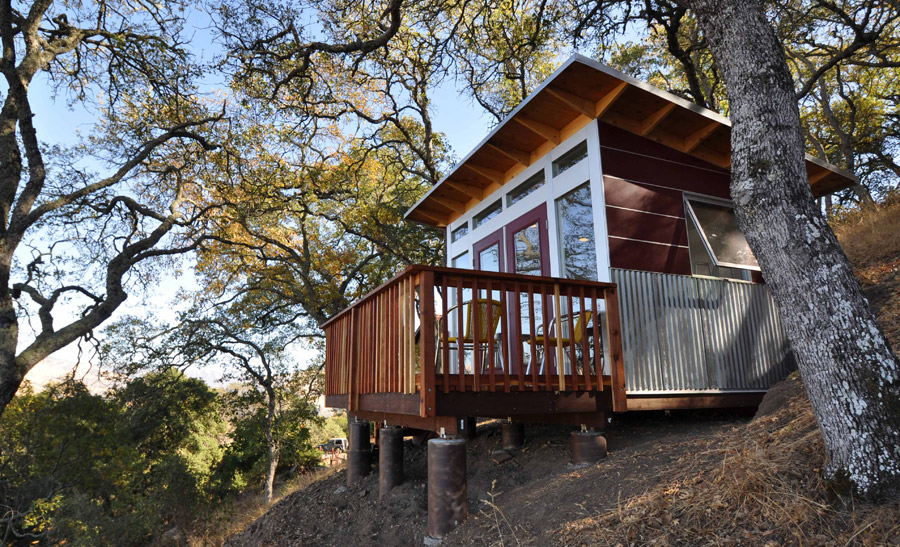 Hillside Office Tiny House Swoon