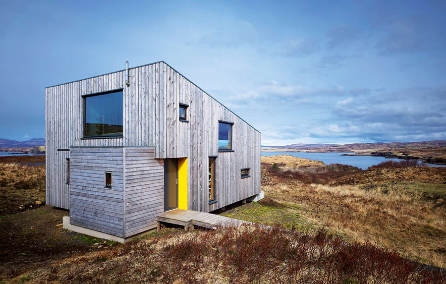 Isle of skye eco home tiny house swoon for Sustainable small homes