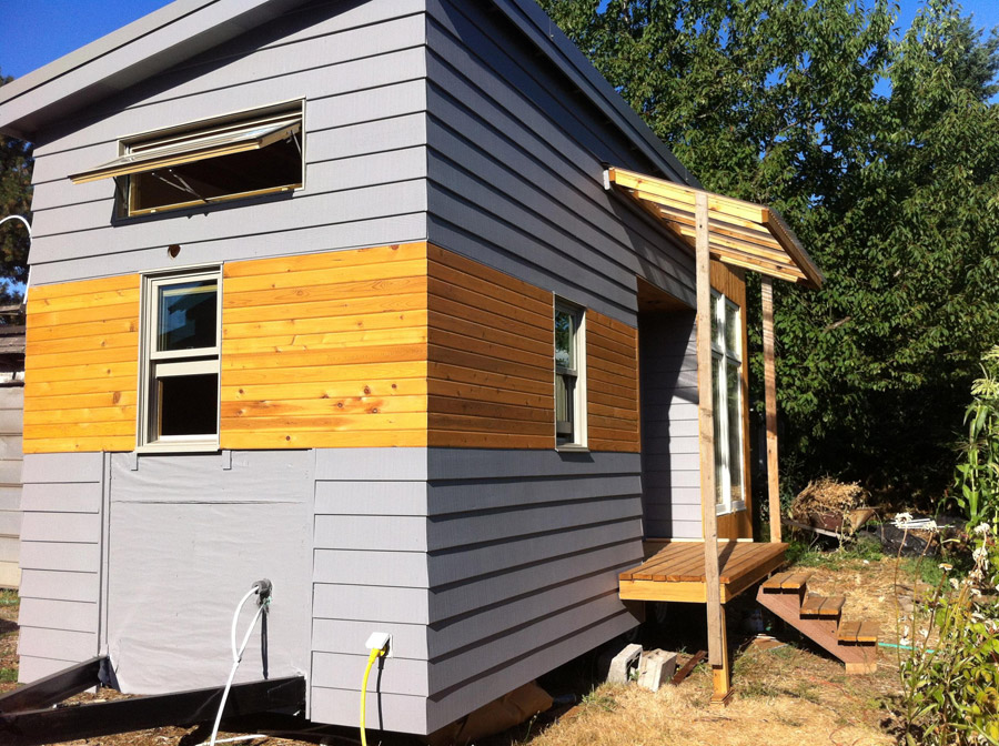 Rustic modern tiny house tiny house swoon - The modern tiny house ...