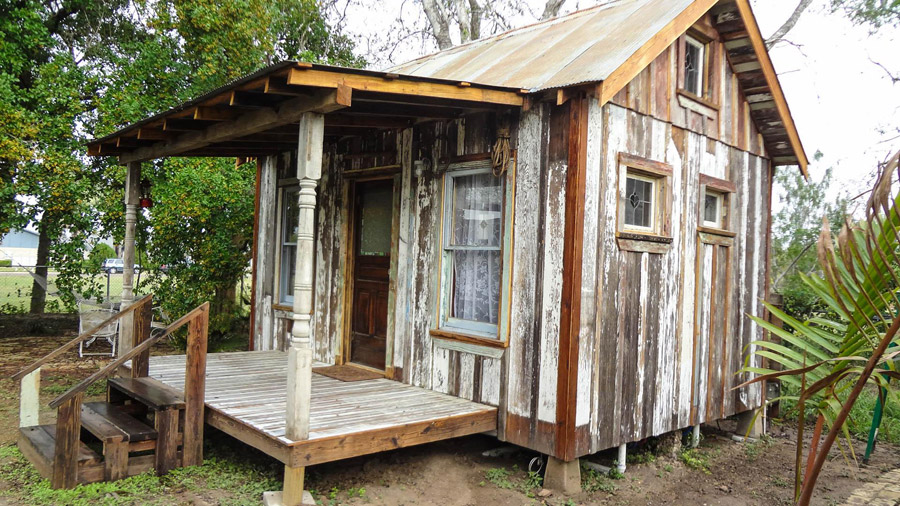 Tiny House Reclaimed Tiny House Swoon