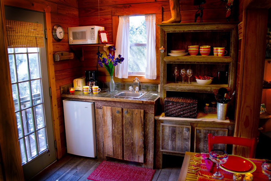 A Small Cabin In Wimberley, Texas.