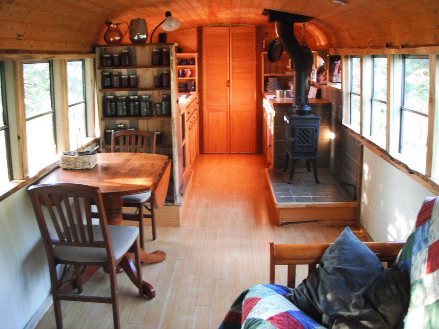 Busonomics Bus Home Tiny House Swoon