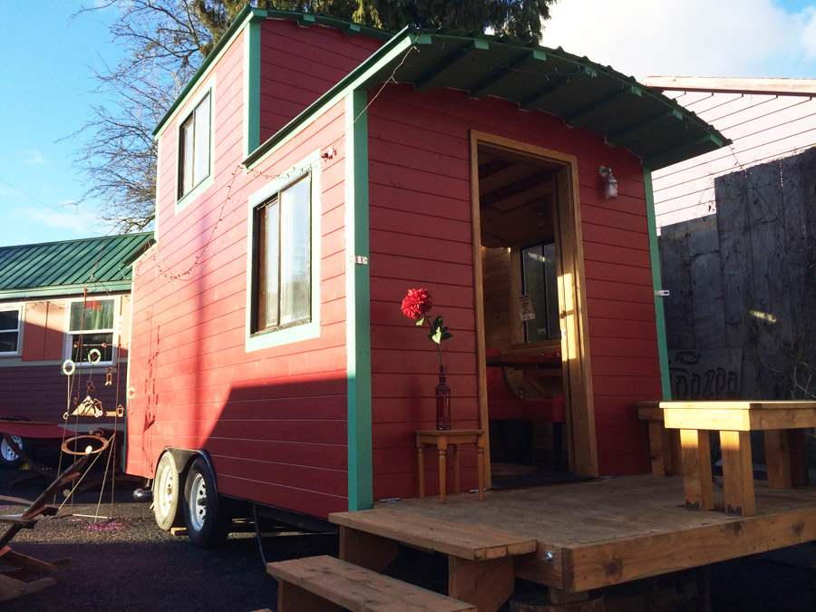 the caboose  tiny house swoon, Tiny Houses/