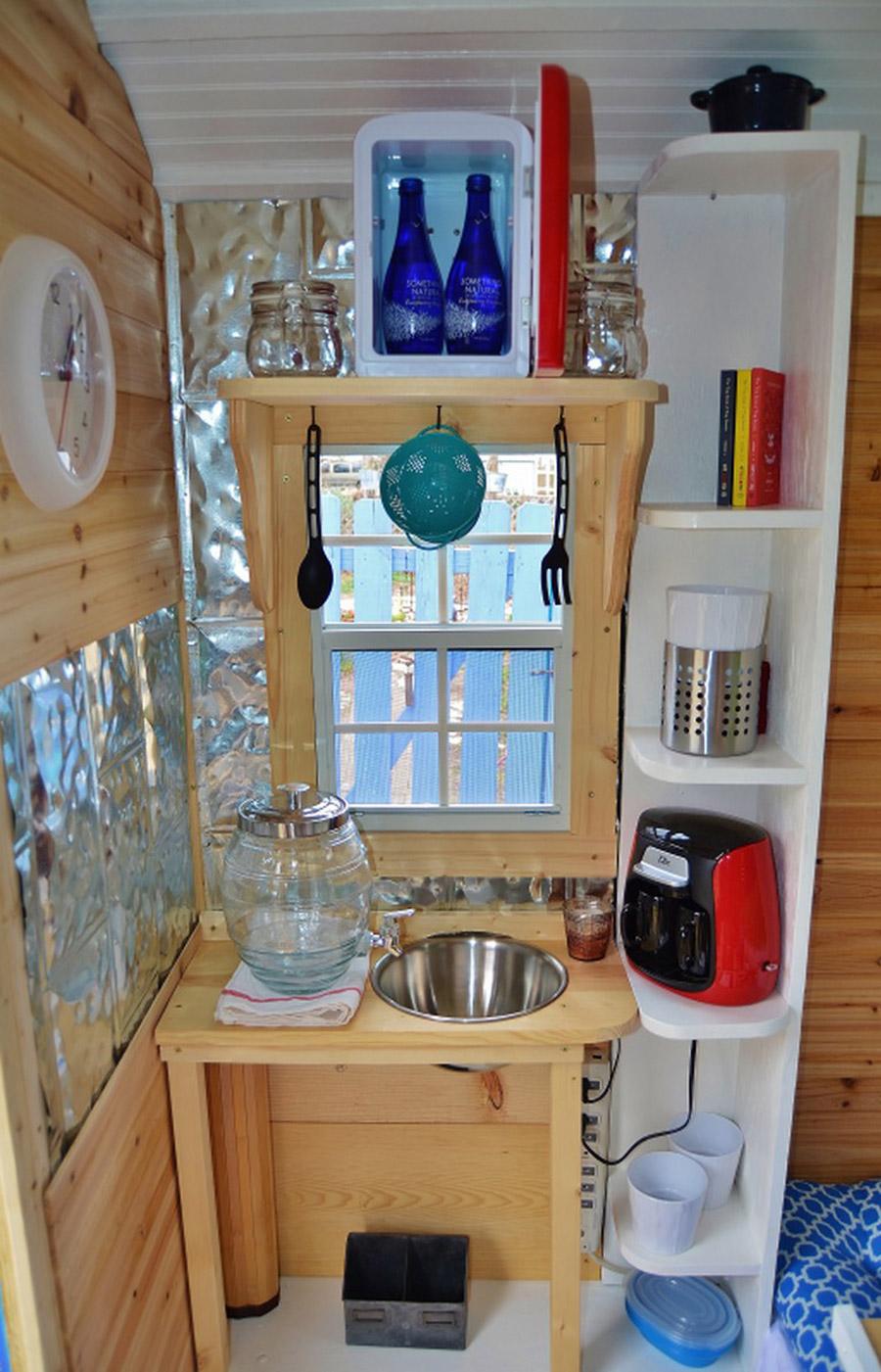 Small Kitchen Appliance Storage