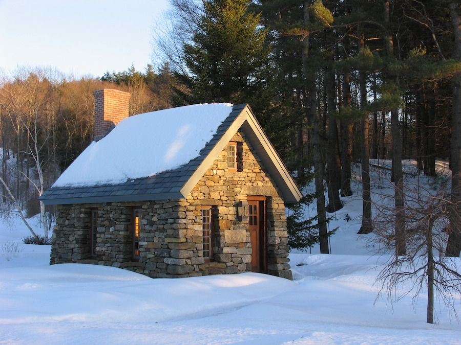 Stone Thoreau Cabin Replica Tiny House Swoon